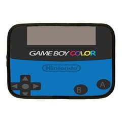 Game Boy Colour Blue Netbook Case (medium)
