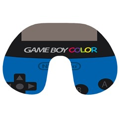 Game Boy Colour Blue Travel Neck Pillows