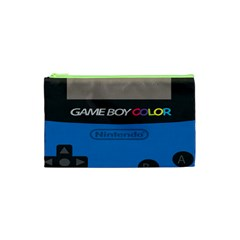 Game Boy Colour Blue Cosmetic Bag (xs)