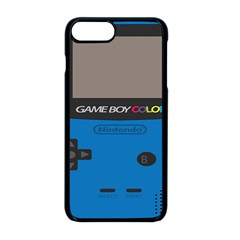 Game Boy Colour Blue Apple Iphone 8 Plus Seamless Case (black) by Samandel