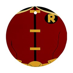 Robin Body Costume Ornament (round)