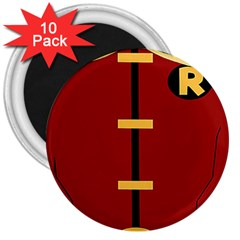 Robin Body Costume 3  Magnets (10 Pack)