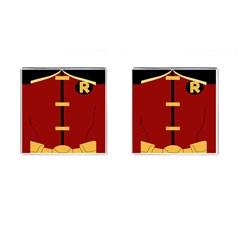 Robin Body Costume Cufflinks (square)