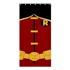Robin Body Costume Shower Curtain 36  X 72  (stall)