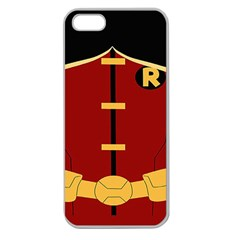 Robin Body Costume Apple Seamless Iphone 5 Case (clear)