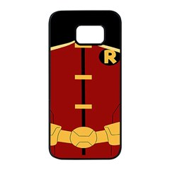 Robin Body Costume Samsung Galaxy S7 Edge Black Seamless Case