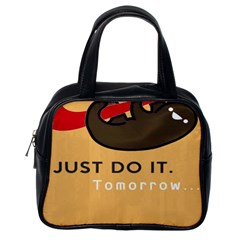 Sloth Just Do It Tomorrow Classic Handbags (one Side)