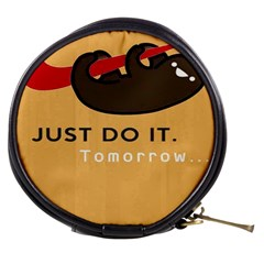 Sloth Just Do It Tomorrow Mini Makeup Bags