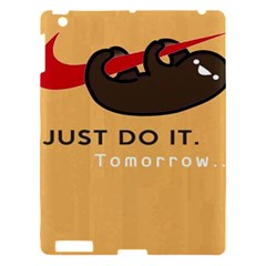 Sloth Just Do It Tomorrow Apple Ipad 3/4 Hardshell Case