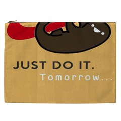 Sloth Just Do It Tomorrow Cosmetic Bag (xxl)