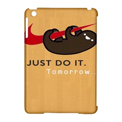 Sloth Just Do It Tomorrow Apple Ipad Mini Hardshell Case (compatible With Smart Cover)