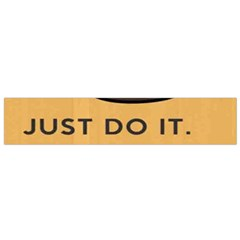 Sloth Just Do It Tomorrow Small Flano Scarf by Samandel