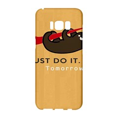 Sloth Just Do It Tomorrow Samsung Galaxy S8 Hardshell Case