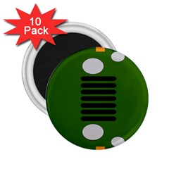 Jeep Simple Logo 2 25  Magnets (10 Pack)