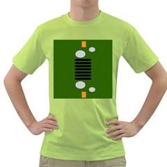 Jeep Simple Logo Green T Shirt