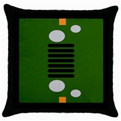 Jeep Simple Logo Throw Pillow Case (black)