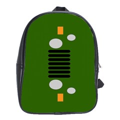 Jeep Simple Logo School Bag (large)