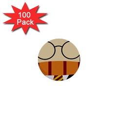 Harry Potter Cartoon 1  Mini Buttons (100 Pack)