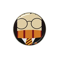 Harry Potter Cartoon Hat Clip Ball Marker (4 Pack) by Samandel