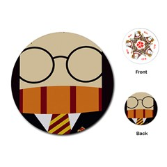 Harry Potter Cartoon Playing Cards (round)