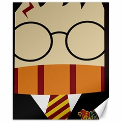 Harry Potter Cartoon Canvas 16  X 20