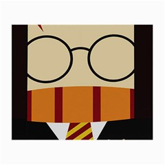 Harry Potter Cartoon Small Glasses Cloth (2 Side)