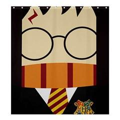 Harry Potter Cartoon Shower Curtain 66  X 72  (large)