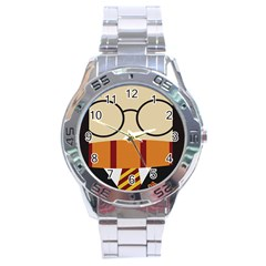 Harry Potter Cartoon Stainless Steel Analogue Watch