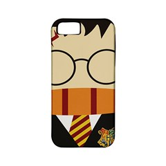 Harry Potter Cartoon Apple Iphone 5 Classic Hardshell Case (pc+silicone)