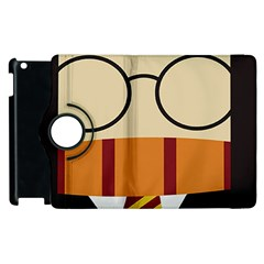 Harry Potter Cartoon Apple Ipad 2 Flip 360 Case