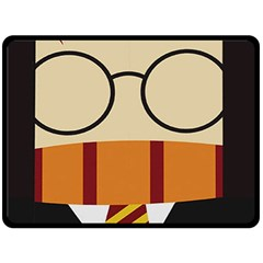 Harry Potter Cartoon Double Sided Fleece Blanket (large)