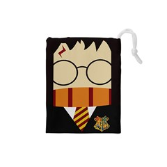 Harry Potter Cartoon Drawstring Pouches (small)