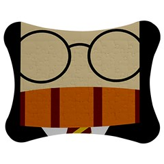 Harry Potter Cartoon Jigsaw Puzzle Photo Stand (bow) by Samandel