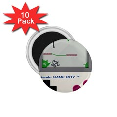 Game Boy White 1 75  Magnets (10 Pack)