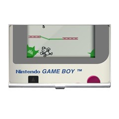 Game Boy White Business Card Holders by Samandel
