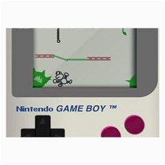 Game Boy White Large Glasses Cloth