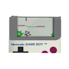 Game Boy White Cosmetic Bag (large)