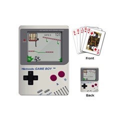 Game Boy White Playing Cards (mini)