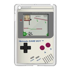 Game Boy White Apple Ipad Mini Case (white) by Samandel