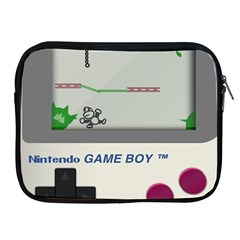 Game Boy White Apple Ipad 2/3/4 Zipper Cases