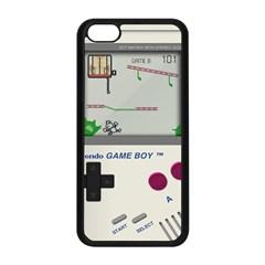 Game Boy White Apple Iphone 5c Seamless Case (black)