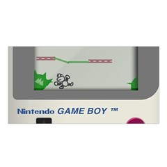 Game Boy White Satin Shawl