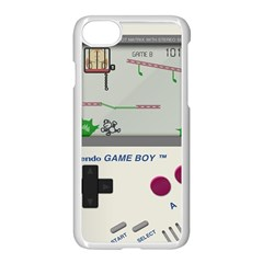 Game Boy White Apple Iphone 7 Seamless Case (white) by Samandel
