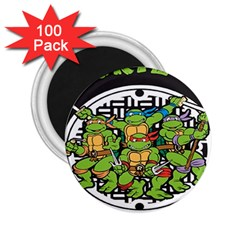 Teenage Mutant Ninja Turtles Hero 2 25  Magnets (100 Pack)