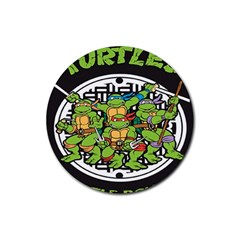 Teenage Mutant Ninja Turtles Hero Rubber Coaster (round)