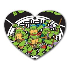 Teenage Mutant Ninja Turtles Hero Heart Mousepads