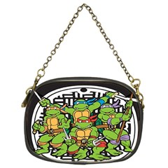 Teenage Mutant Ninja Turtles Hero Chain Purses (two Sides)