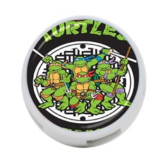 Teenage Mutant Ninja Turtles Hero 4 Port Usb Hub (one Side)