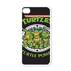 Teenage Mutant Ninja Turtles Hero Apple Iphone 4 Case (white)