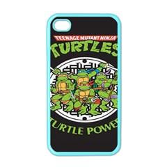 Teenage Mutant Ninja Turtles Hero Apple Iphone 4 Case (color)